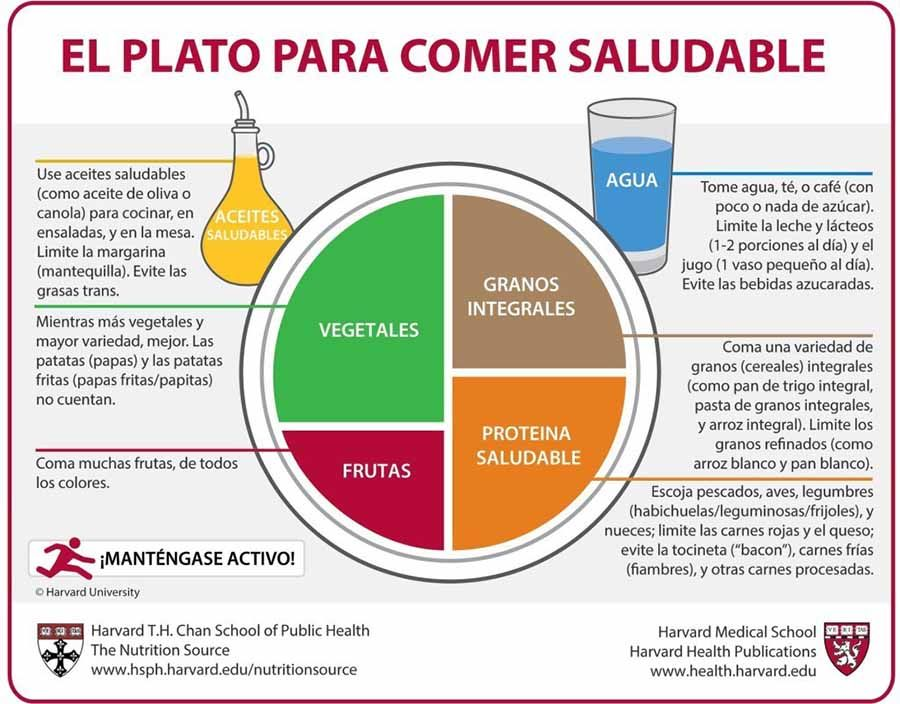 leche healthy plate